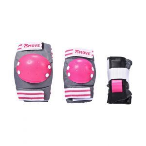 Move skate protection 3-piece pink