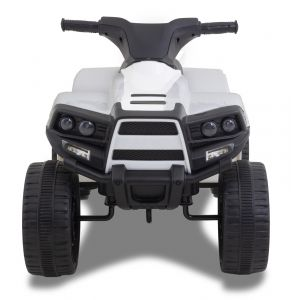 Panda Quad kidscar white prijstechnisch outdoortoys4kids
