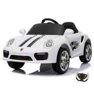 Kijana electric kids car Porsche style white