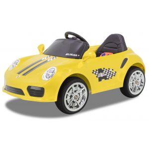 Speedy Porsche style yellow