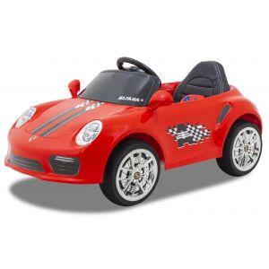 Speedy Porsche style red