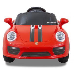 Speedy Porsche Style kidscar red front view