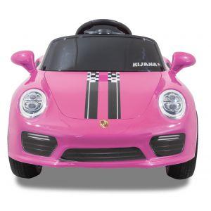 Speedy Porsche Style kidscar pink front view