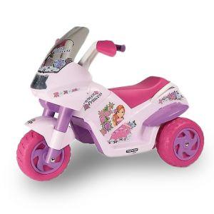 Peg Perego Flower Princess kids motorcycle pink