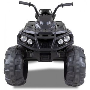 Electric quad kids black front view