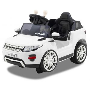 Kijana electric kids car Evoque style white