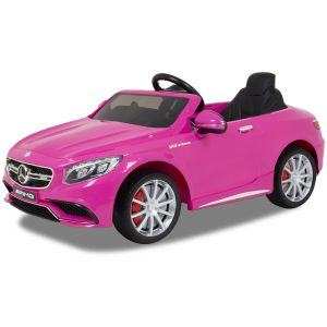 Mercedes electric kids car S63 AMG pink