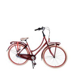 Salutoni Excellent City Bike - 28 inch - 50 centimeters - Bordeaux - 95% assembled