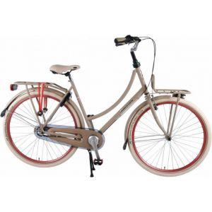Salutoni Excellent City Bike - Women - 28 inch - 50 centimeters - Sand - Shimano Nexus 3 gears - 95% assembled
