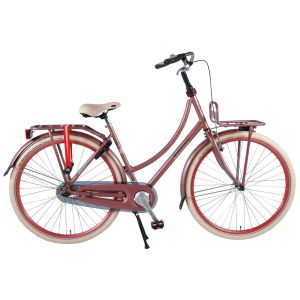 SALUTONI Excellent City Bike - Women - 28 inch - 50 centimeters - Old Pink - 95% assembled
