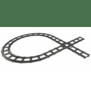 Peg Perego train track 11-part Santa Fe