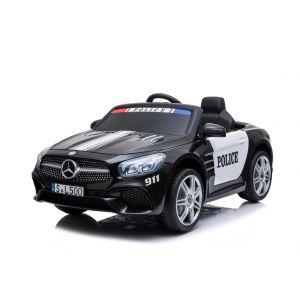 Mercedes kids car police SL500 black