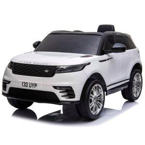 Land Rover electric kids car Velar white