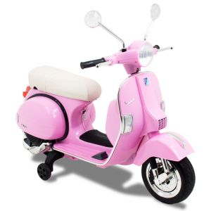 Vespa kids electric scooter pink prijstechnisch