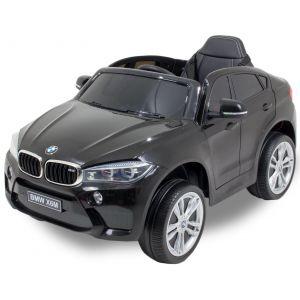 BMW X6 kidscar black side view front view