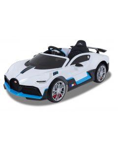 Bugatti kids car Divo white