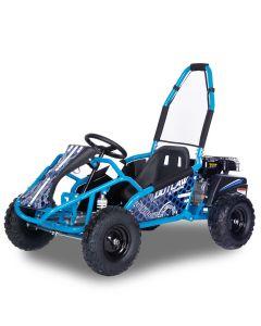 Kijana Outlaw buggy 98cc 4-stroke engine blue