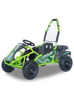 Kijana Outlaw buggy 98cc 4-stroke engine green