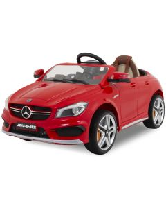 Mercedes kids car CLA45 AMG red