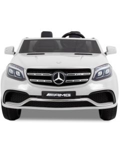 Mercedes kids car GLS AMG white