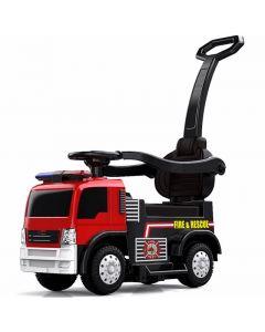 Fire truck baby push car