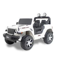 Jeep kids car Wrangler white