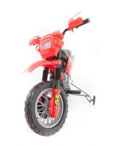 Electric kids motorcycle red