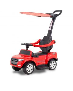 Ford Ranger push car with umbrella red