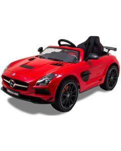 Mercedes kids car AMG SLS red
