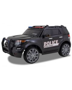 Police Jeep Ford style black