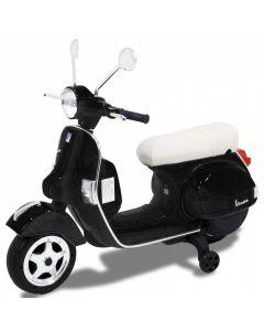 Vespa electric kids scooter black