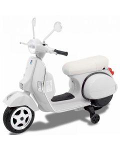 Vespa kids scooter white