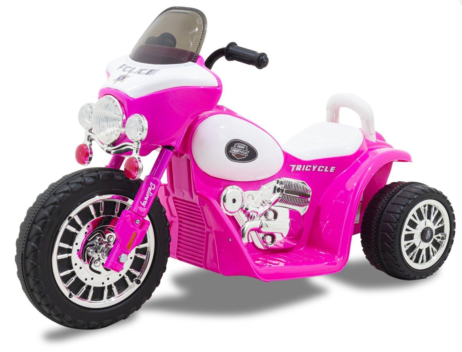 Electric kids motor 'Wheely' pink